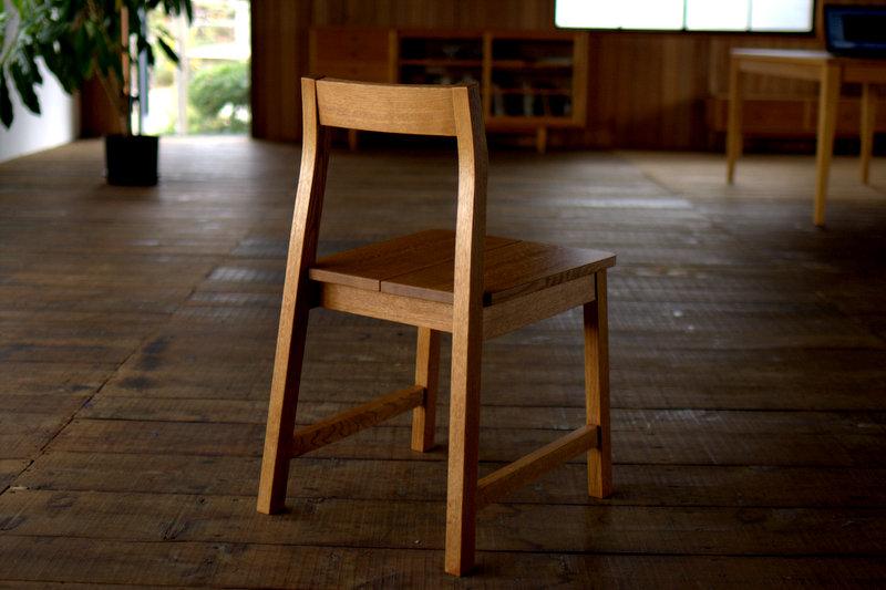 オリジナルダイニングチェア chair809-板座オーダー