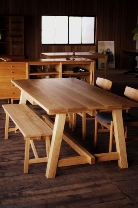 作業台テーブル&ベンチ